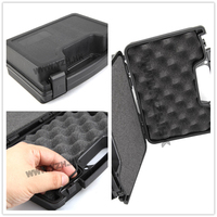 EmersonGear Pistol ABS Case Tactical Hard Pistol Case Gun Case Padded Foam Lining for hunting airsoft Gun Holsters Accessories