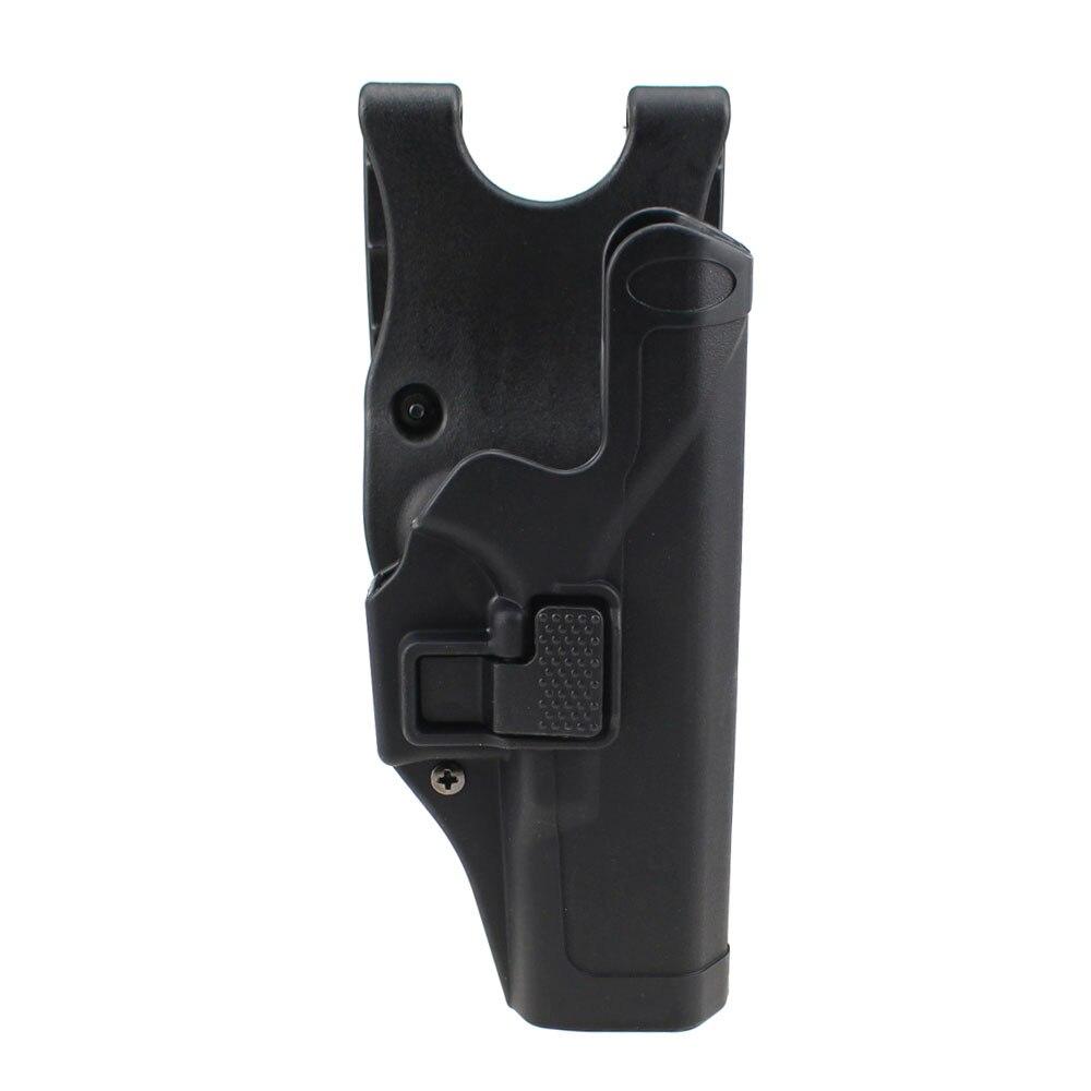 Táctico Glock funda militar ocultación Nivel 2-mano paleta cintura cinturón Arma funda para pistola Glock 17 19 22 23 31