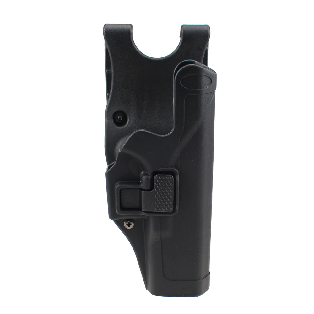 Tactical Glock Holster Military Concealment Level 2 Right-Hand Paddle Waist Belt Gun Pistol Holster for Glock 17 19 22 23 31 tactical military gun pistol holster magazine case for 1911 black