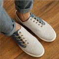 Men Casual Shoes 2016 New Arrival Men's Fashion Splicing Hemp Shoes Male Autumn Wear Breathable Shoes MXR044