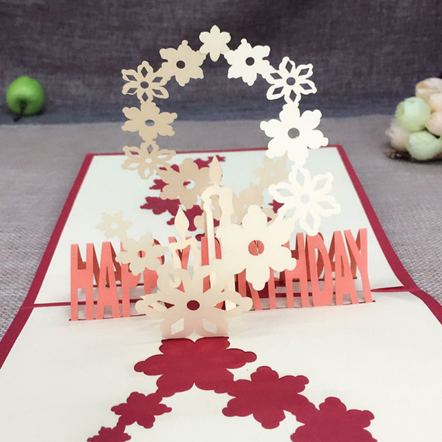 1pcs sample fireworks laser cut 3d handmade pop up greeting cards 1pcs sample fireworks laser cut 3d handmade pop up greeting cards postcard kraft kirigami free envelope m4hsunfo