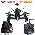 Walkera DEVO7 F210 OU DEVO10 Controle Remoto RC Helicóptero Walkera FPV Quadcopter Zangão com Câmera 700TVL VS Runner 250 antecedência