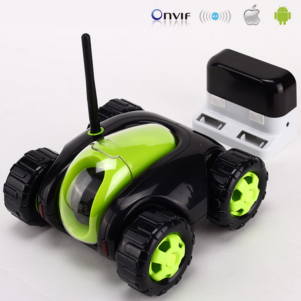 Brand New Car Remote Robot WiFi Camera Support Smart Phone Remote Control Wire Charging Automatic Recharge IP Secuirity Camera цена 2017