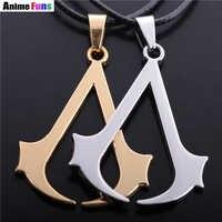 Spiel Assassins Vintage Ezio Deiss Mond Logo Halsband Halskette Anhänger Schmuck Für Männer Und Frauen Großhandel tropfen-versand