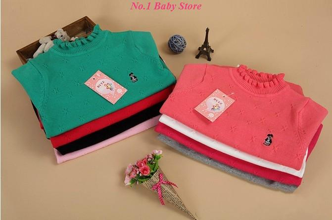 Sales! Free shipping baby turtleneck knitted cotton shirt,good quality children sweater,baby clothes,Kids sweater!