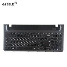 Na ciepło QH do rosyjski klawiatura laptopa rama dla samsung NP355E5C NP355V5C NP300E5E NP350E5C NP 350V5C BA59 03270C RU górna obudowa do opierania dłoni