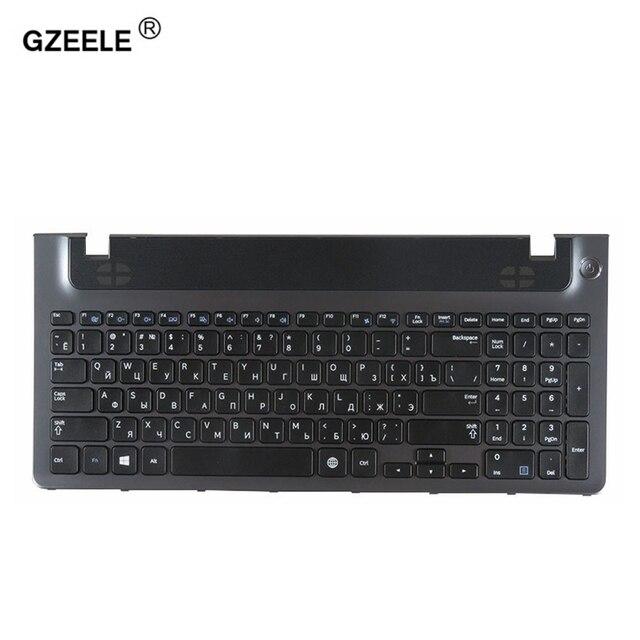 QH Russo tastiera del computer portatile cornice per samsung NP355E5C NP355V5C NP300E5E NP350E5C NP 350V5C BA59 03270C RU PALMREST SUPERIORE CASO