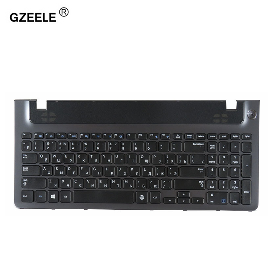 Russian Laptop Keyboard Frame For Samsung NP355E5C NP355V5C NP300E5E NP350E5C NP 350V5C BA59-03270C RU PALMREST UPPER CASE