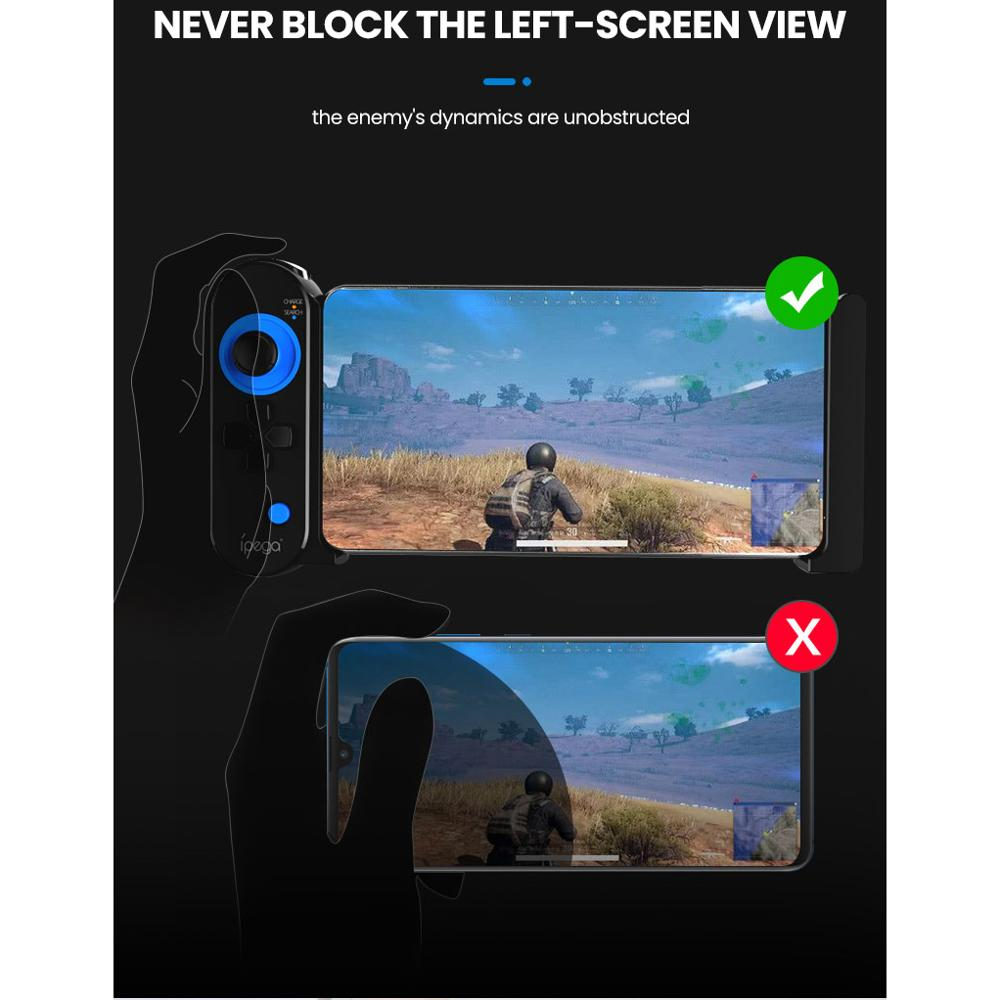 iPega Joystick For Android iPhone Phone Smartphone Pubg Mobile Controller Trigger Gamepad Game Pad For Pugb Joistick Gaming Pabg in Joysticks from Consumer Electronics
