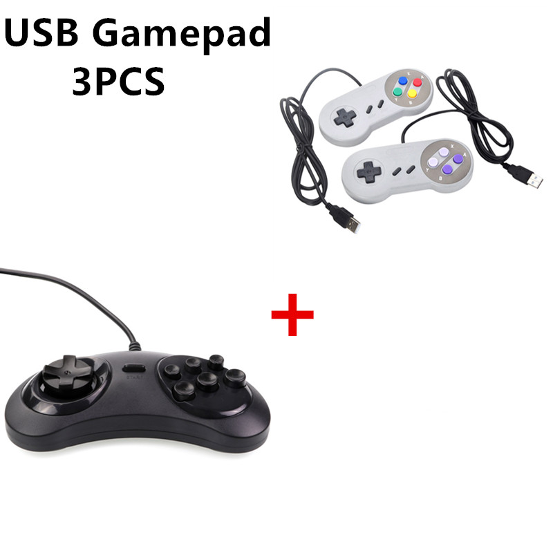 3PCS Wired USB Joystick For Snes USB PC Gamepad font b Gaming b font For Sega