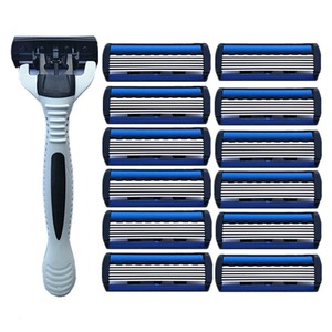 1pcs Beard Shaver Rack +12 pcs