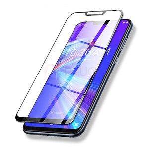 Image 5 - Protector de pantalla para Asus Zenfone Max Pro M2 ZB631KL, vidrio templado 9H, cubierta completa, ZB631KL ZB633KL, Protector de cristal templado