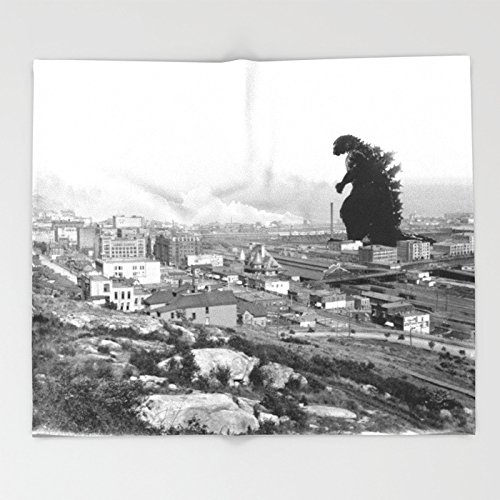 Old Time Godzilla Throw Blankets 51 x 60 Blanket