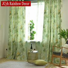 American Green Leaf Blackout Curtains For Living Room Printed Window Curtains For Bedroom Blackout Drapes Curtain Fabrics 75% 2 printio slow death t shirt