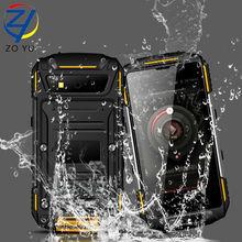 ZOYU s950 Smartphone Android IP68 waterproof and dustproof MTK6735Quad-core mobile phone 3100mAh power bank senior phone
