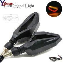 LED Universal Motorcycle Turn Signal Indicator Light Amber Lamp Bulb Blinker Flasher For YAMAHA V-MAX1200 FZ-1N FZ-6N BMW S1000R