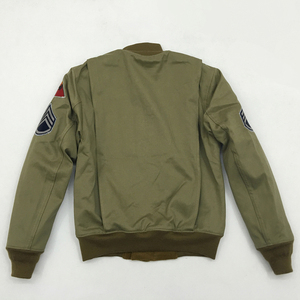 Image 2 - Bob Dong Fury Tanker Patch Jacket Mens Vintage US Army Military Winter Wool Coat