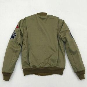 Image 2 - Veste en laine Vintage pour homme, style militaire américain, veste en laine, style hiver Bob Dong Fury