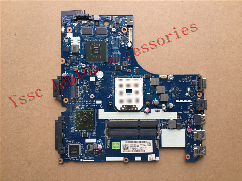 Free shipping New New VALGC GD LA A091P for Lenovo G405S motherboard For AMD HD 8450G