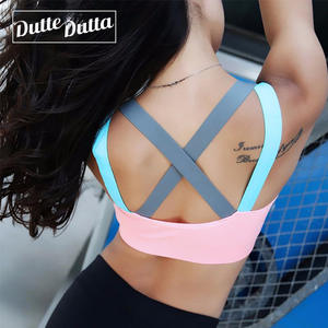 0f11adc82a Top For Fitness Yoga Cross Strap Womens Gym Running Padded Tank Athletic  Vest