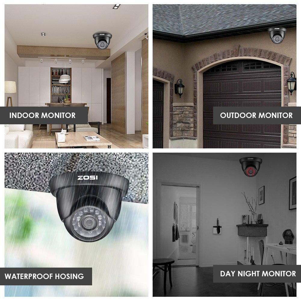 Enregistreur DVR avec système de sécurité vidéo ZOSI 8 canaux - Sécurité et protection - Photo 6
