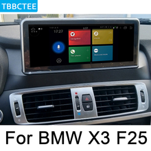 For BMW X3 F25 2014~2017 NBT Car Android original style GPS Navigation radio stereo multimedia player DSP HD touch screen WIFI цена