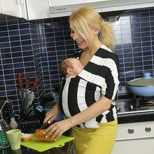 Porte-bébé Fronde Nouveau-nés Souple Infantile Wrap Force Élastique  Respirant Wrap Siège Pour Hanche Hipseat Allaiter Naissance . f2e0926577f