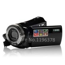 Free Shipping HD 720p Camcorder Max. 16MP 2.7 Inch Screen DIS Face Capture 16x Digital Zoom Li-Ion Battery Digital Video Camera