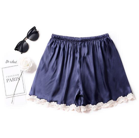 Women\\\'S Pajamas Pant Shorts Summer Home Pant Silk Satin Casual Sleepwear Pants Pyjamas Women Lounge Sleeping Pants