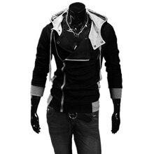 2016 männer Sweatshirts & Hoodies Männliche Trainingsanzug Mit Kapuze Jacken Fashion Freizeitjacken Für Männer M-6XL Assassins Creed