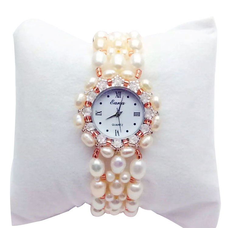 2019 New Spot A Manufacturer Undertakes To Natural Pearl Bracelet Watch Female Table Not Allergic Gift Wholesale Crystal Form 2019 New Spot A Manufacturer Undertakes To Natural Pearl Bracelet Watch Female Table Not Allergic Gift Wholesale Crystal Form