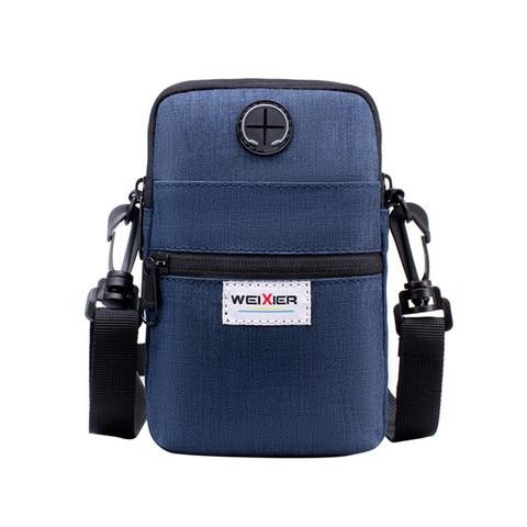 Fashion 2019 Casual Summer Men Diagonal Mini Shoulder Multi-Function Mobile Phone Bag Outdoor Sports Messenger Shoulder Tote Bag Lahore