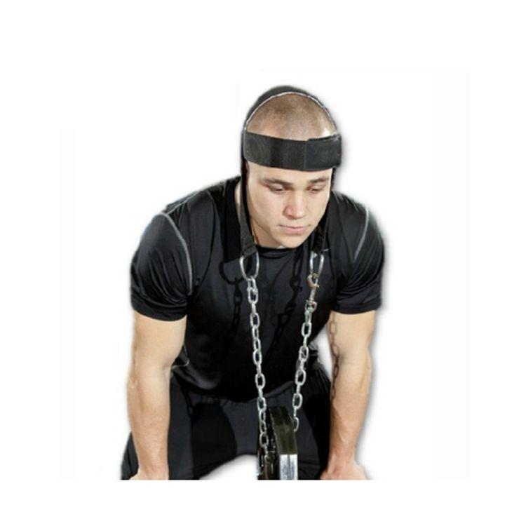 Head Harness Belt Neck Weigeht Lifting Strength Exercise Strap Fitness Weights Head Nylon