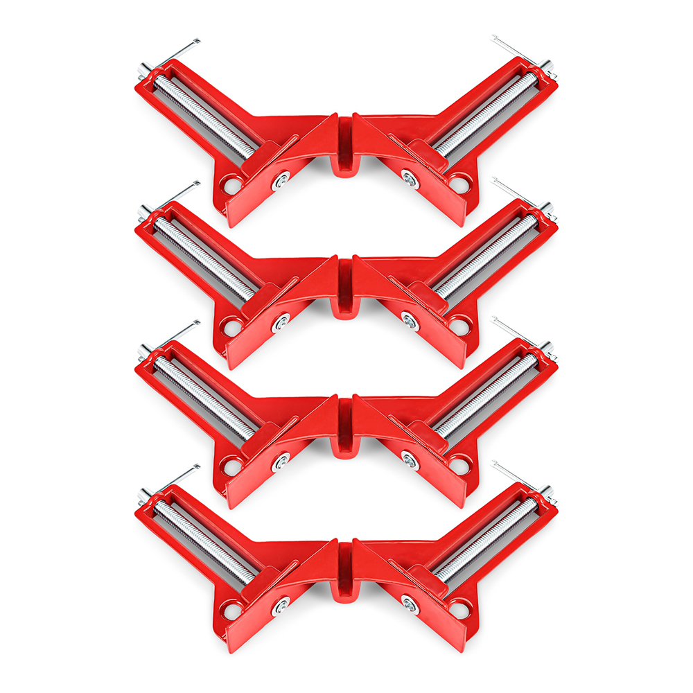 4pcs Reinforced 90 Degree Right Angle Clamp Corner Clamps For Aquarium Fishtank Glass Wood Picture Holder Woodworking Tool4pcs Reinforced 90 Degree Right Angle Clamp Corner Clamps For Aquarium Fishtank Glass Wood Picture Holder Woodworking Tool