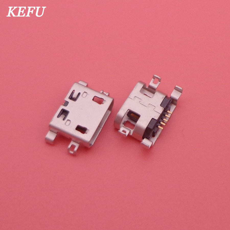 5pcs Micro USB Connector Charger Jack Charging Port socket power plug replacement for UMI UIMI X2 Elephone P8000 High Quality