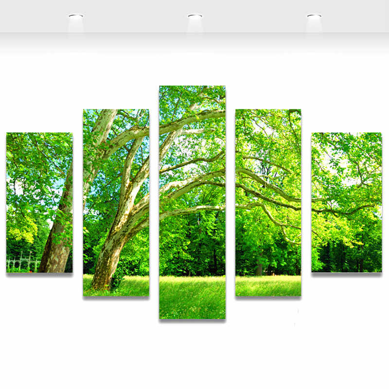 Diy 5 шт./компл. 5d алмазная вышивка наборы вышивки крестом сезонные деревья домашний Декор 3d Алмазная картина мозаика комплект картина рукоделие
