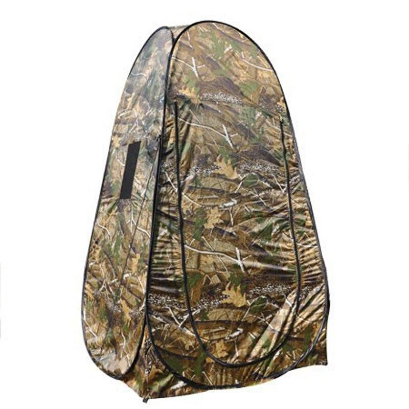 8 PCS/LOT Portable Camouflage intimité douche toilette Camping Pop Up tente Camouflage Dressing tente