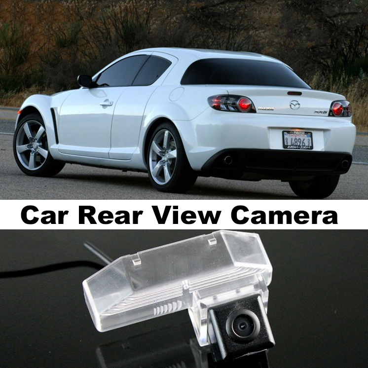 Car Camera For Mazda RX 8 RX 8 RX8 2003~2015 High Quality Rear View Back Up Camera For Top Gear Friends to Use | CCD with RCA
