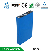 2Packs CALB 12V 72AH Lifepo4 Lithium Ion Battery Pack Cells for E trick ,boat,bus,Solar systerm