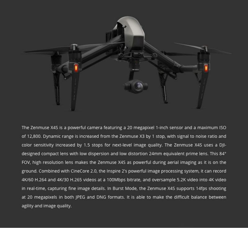 DJI X4S Camera Gimbal (4)