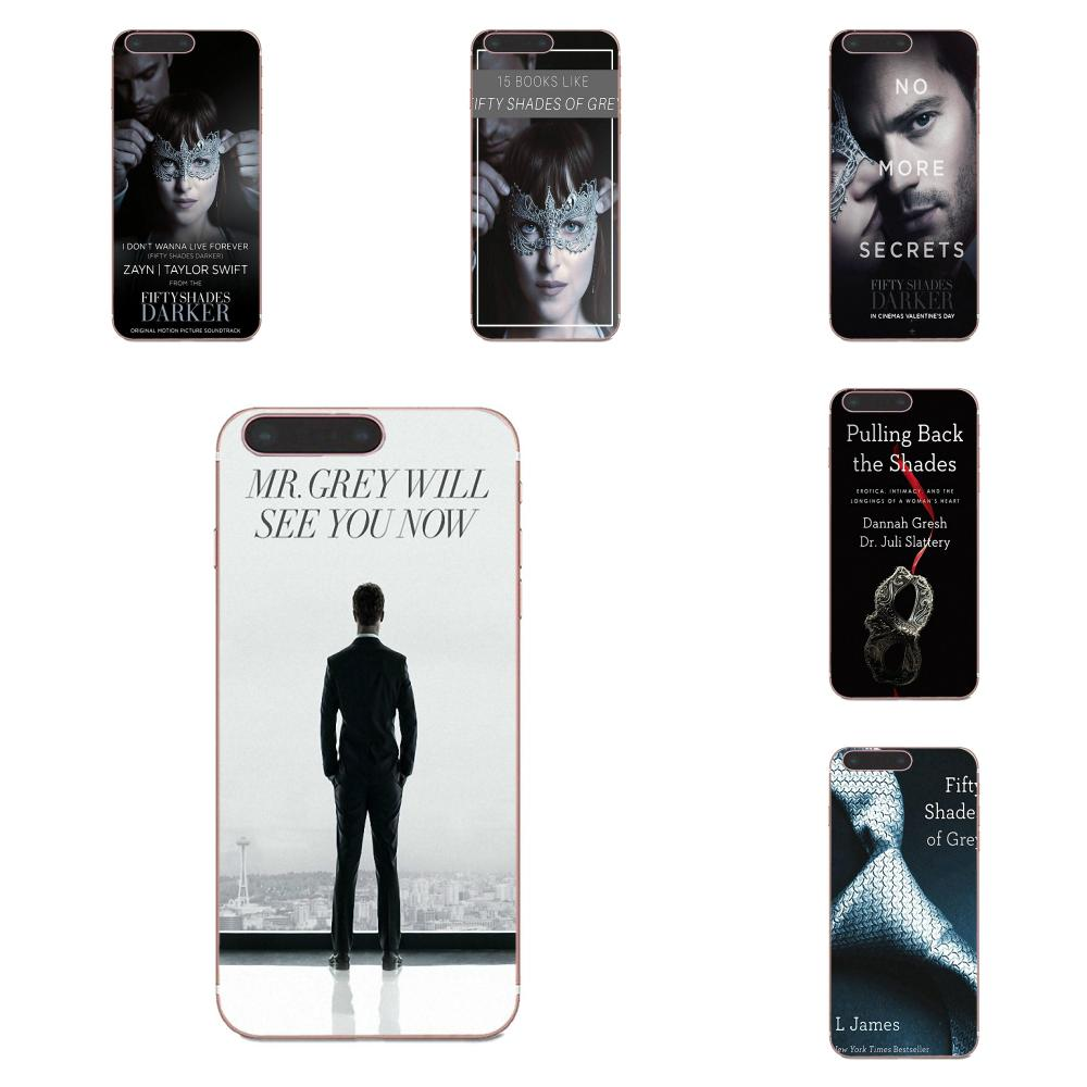 Soft TPU Phone Cover Case Coque For Xiaomi Mi3 Mi4 Mi4C Mi4i Mi5 Mi 5S 5X 6 6X A1 Max Mix 2 Note 3 4 <font><b>50</b></font> Fifty <font><b>Shades</b></font> <font><b>Of</b></font> <font><b>Grey</b></font> <font><b>Sex</b></font> image