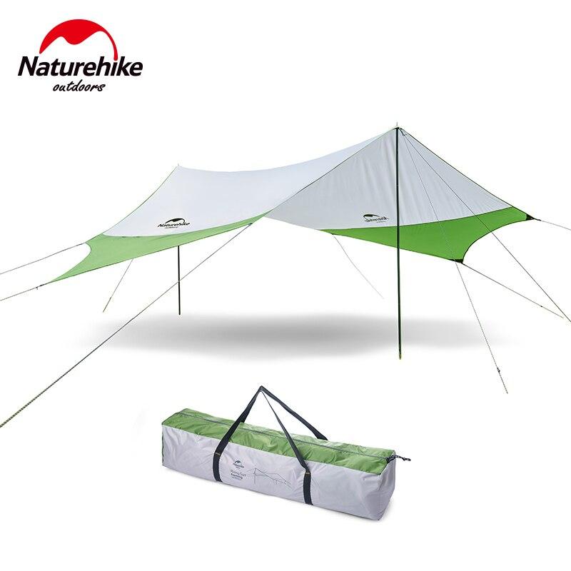 Naturehike hexagonal sun shelter outdoor waterproof tarp large camping canopy beach tent sunshade picnic sun shelter