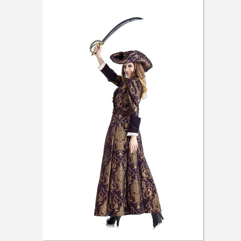 2018 Nouveau Européen et Américain nouveau jeu uniforme femelle Caraïbes Pirate deguisement Halloween fête jeux de rôle