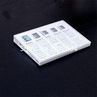 50 teile/los hochwertige abgeschrägte A5 acryl preis tag halter für tablet pc display 21*15cm