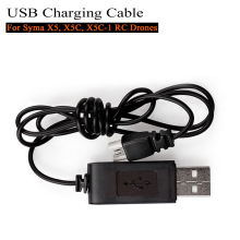 1 Piece New Black USB Charging Cable Charger for Syma X5 X5C X5C-1 RC Quadcopter Drones Remote Control Airplanes Hot Sale