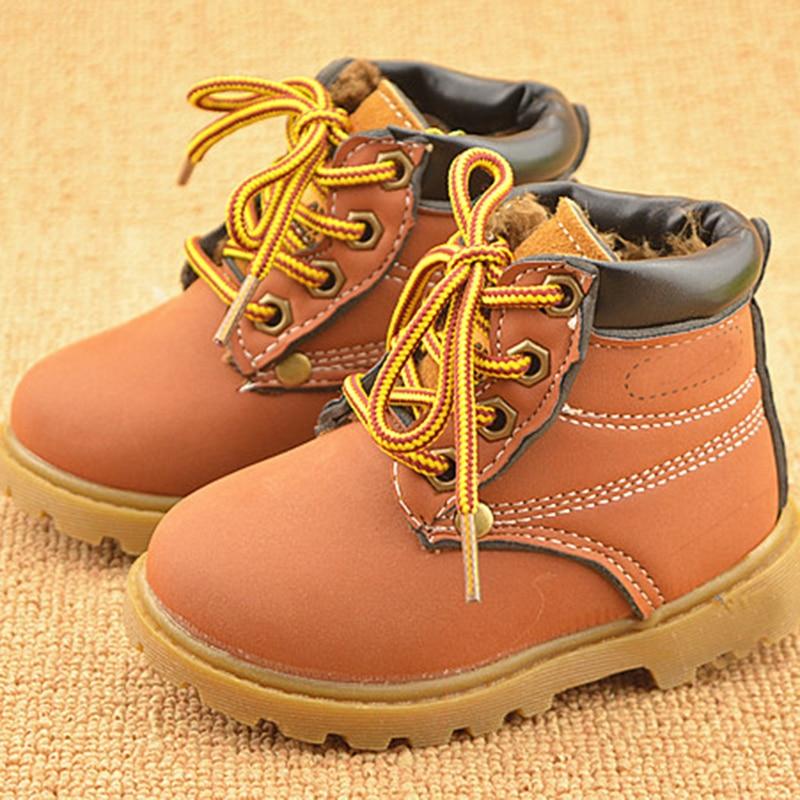 NUEVO 2016 niños de primavera Martin botas niños zapatos casuales - Zapatos de bebé - foto 3
