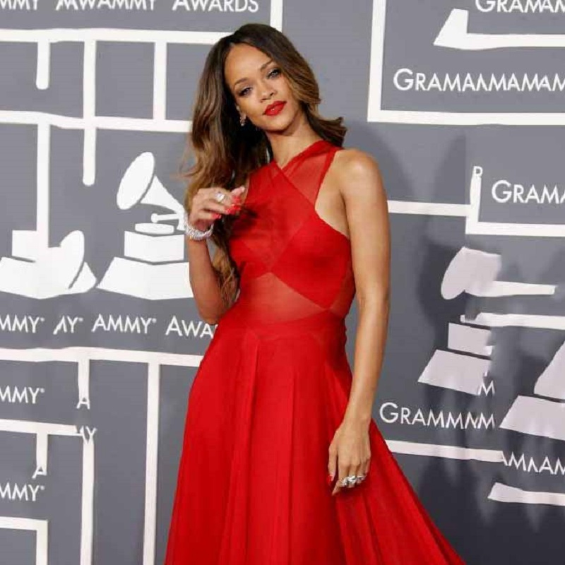 Rihanna Red Carpet Celebrity Dresses 2017 Prom Dress Long Formal ...