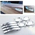 SmRKE для автомобиля Buick Verano хромированная крышка для двери наклейки украшение интерьера блёстки брендовые автомобильные аксессуары Стайлин...