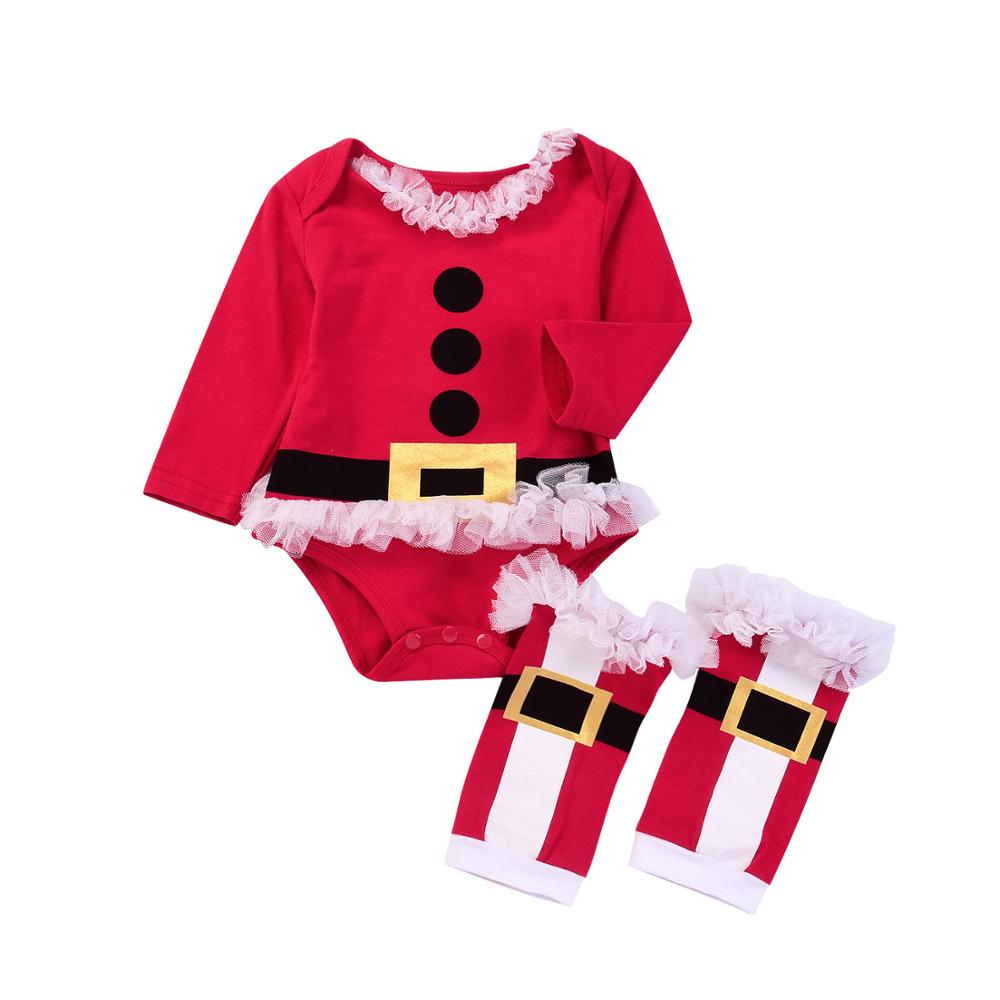 Baby Christmas Rompers Long-sleeved Jumpsuit Newborn Kids Fashion Autumn Clothes Outfit For Boys Girls newborn infant baby rompers spring autumn baby clothing long sleeve baby body suit kids boys girls rompers baby clothes kf070