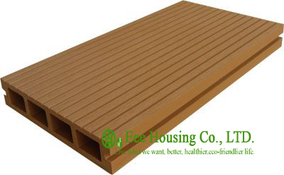 Environmental Friendly Outdoor WPC Decking For Balcony, Anti-moisture And Termites